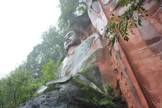 Pengshan County, China: Sitting Buddha 24metres