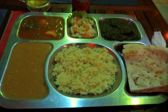 Maharajah: Special  $5 Veg Thalii