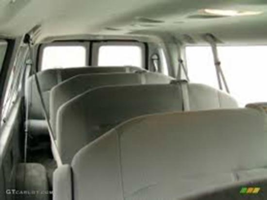 Perfect KJ Limousine Services: Ford E350 Passenger Van Interior Design