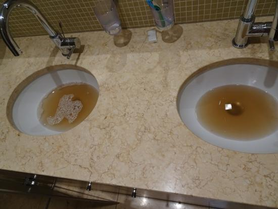 Residence Karolina - Prague City Apartments : Filthy unhealthy hot water.