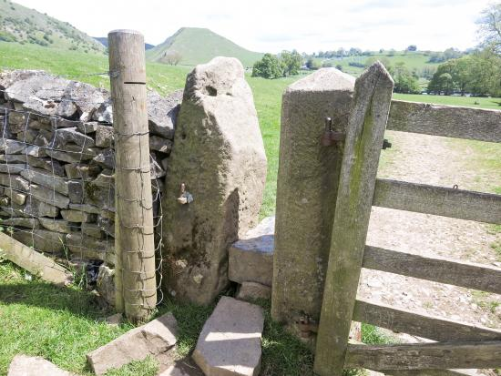 Dovedale, UK: An ancient stile