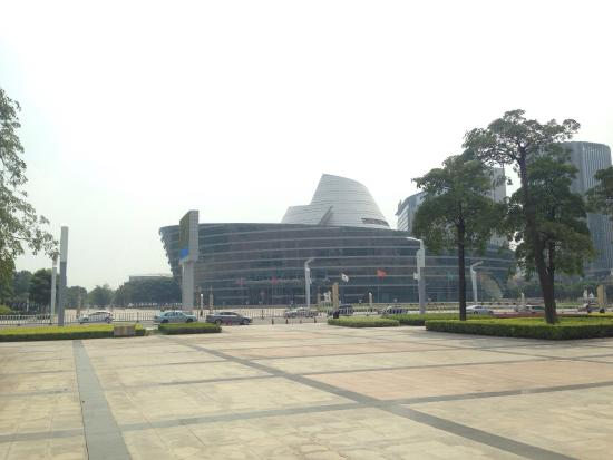Dongguan Central Square: After a great tour in Town , i made a Quick stop here. May be at night lot of things to see or d