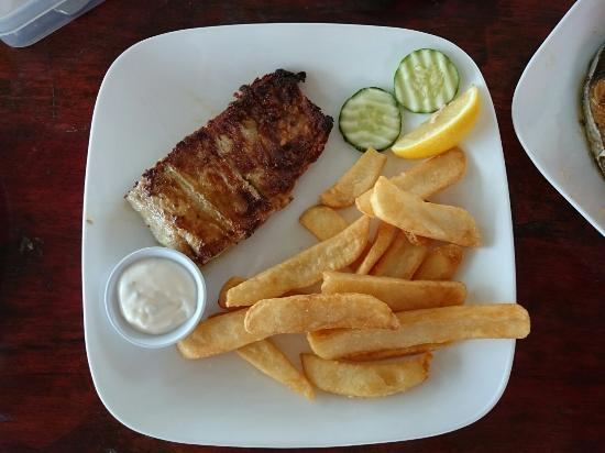 Picture of scarborough fish chips restaurant for Fried fish restaurants