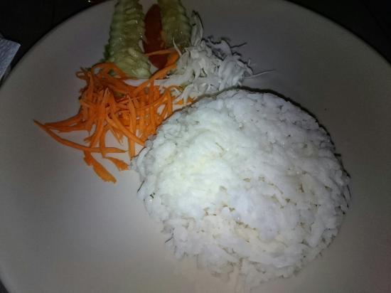 Rafii's Beach Cafe: Tom Kha Kai. Yummy!