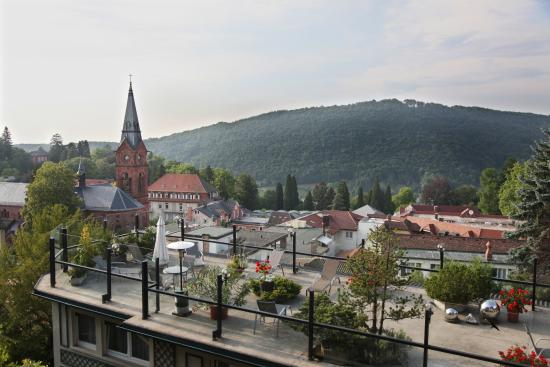Kellner's SPA: Dachterrasse