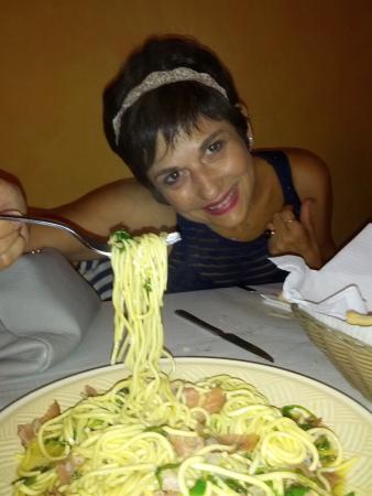 Treglio, İtalya: cena leggera