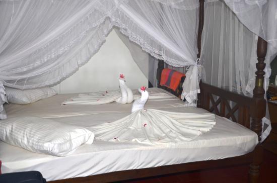 Sri Gemunu Beach Resort: Standard Zimmer