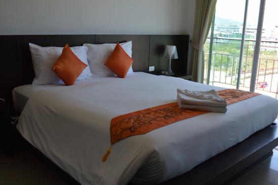 APK Resort : bed