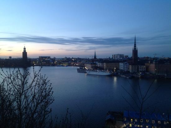 Foto De Monteliusvagen Estocolmo Pemandangan Kota Yg Indah