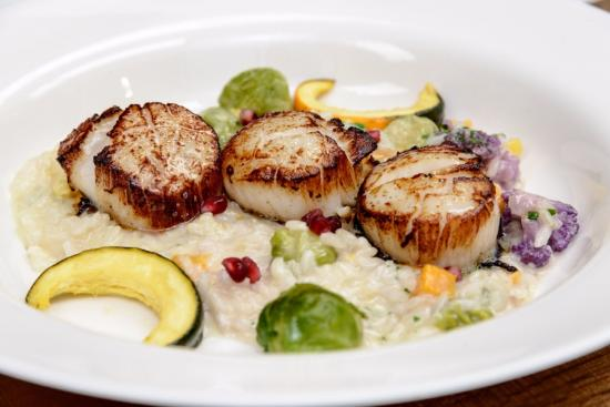 Le Vieux Logis: Scallop with Risotto