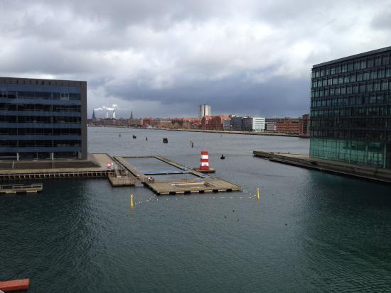 Aussicht aus dem zimmer bild von copenhagen island hotel for Hotels in kopenhagen zentrum