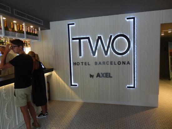 Two Hotel Barcelona By Axel Lobby