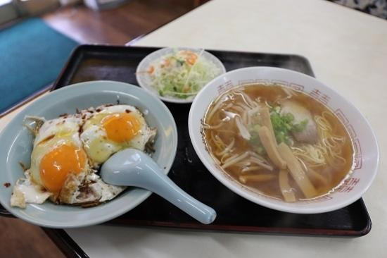 Shigematsuhanten : 焼き豚玉子飯(Cセット)