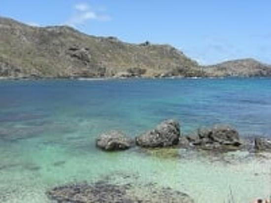 Anse des Flamands, St. Barthelemy: Some of the Rocks