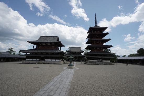 Horyu-ji Temple : Horyu-ji