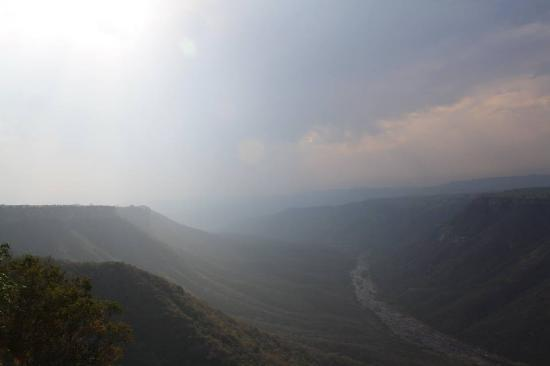 Leopard Rock Lookout Chalets & Coffee Shop/Restaurant: Beautiful views of the Oribi Gorge