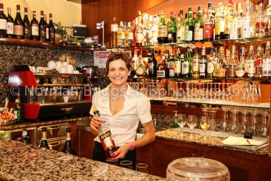 Hotel Gardenia & Villa Charme: Bar @ Gardenia Hotel