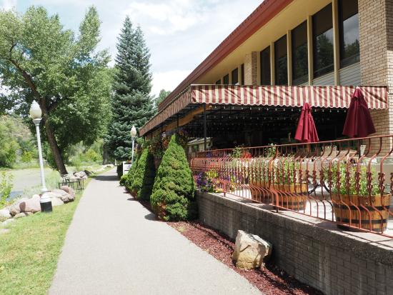 Animas River Cafe : very peaceful..