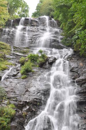 Dawsonville, Τζόρτζια: Haut des chutes
