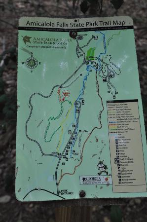 Dawsonville, GA: carte des randonnées