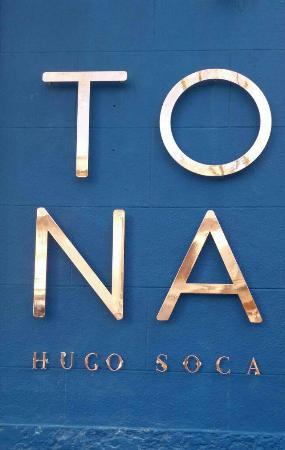 Restaurante Tona de Hugo Soca
