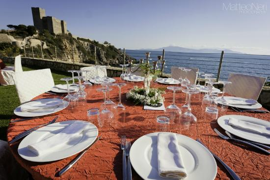 Hotel Capo d'Uomo: Ricevimento Matrimonio
