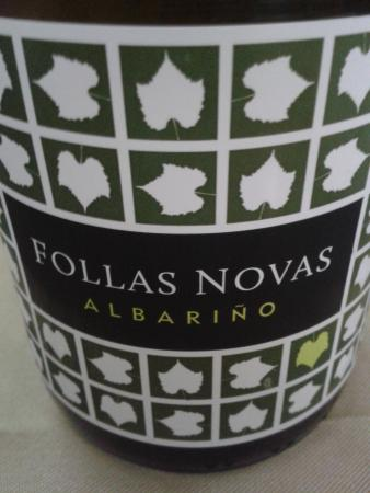 restaurante ruas: vino albarino