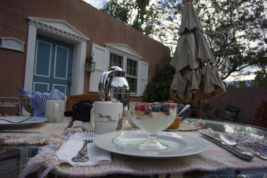 Corrales, New Mexiko: Breakfast
