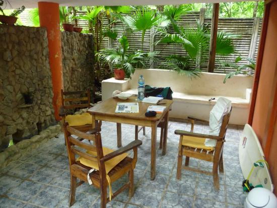 Ranchos Itauna: Terace