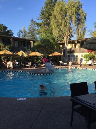 Pool Picture of Dinahs Garden Hotel Palo Alto TripAdvisor
