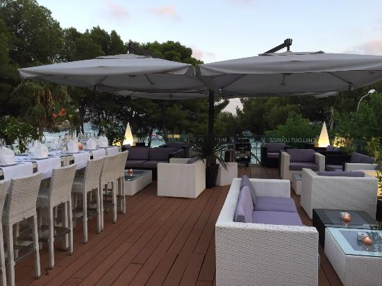 playa 5 restaurant music bar birthday party chill out terrace