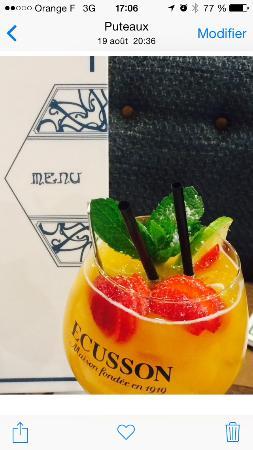 BRASSERIE LE FLORE : Cocktail Flore