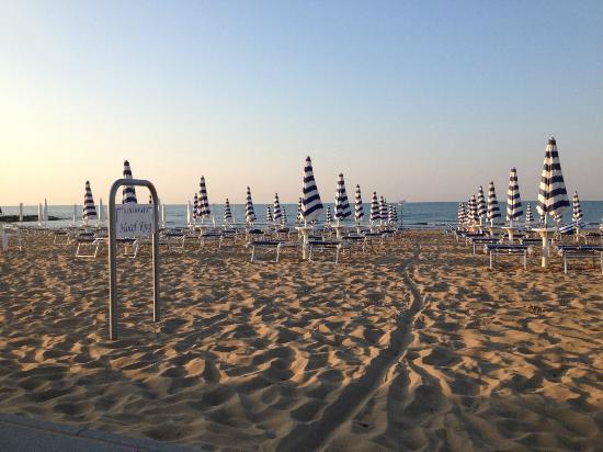 Hotel King: Spiaggia