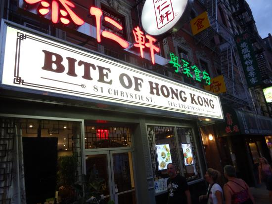 Photo of Chinese Restaurant Bite Of Hong Kong at 81 Chrystie St, New York City, NY 10002, United States