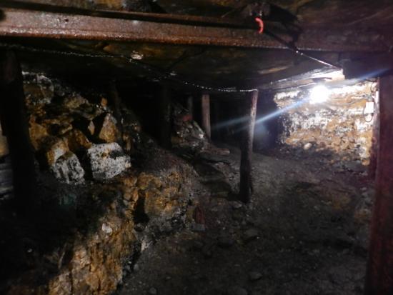 Patton, PA: Interior of the mine