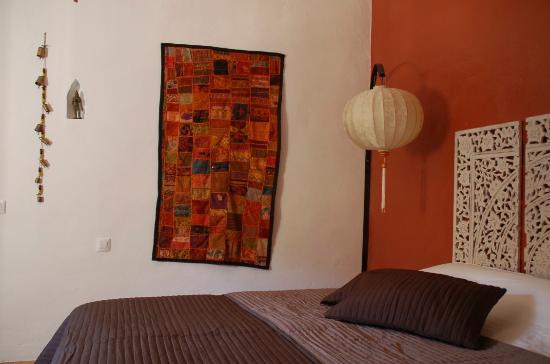 Casa Valle de Oro: Interieur van de Indische kamer of Cuarto Jaipur