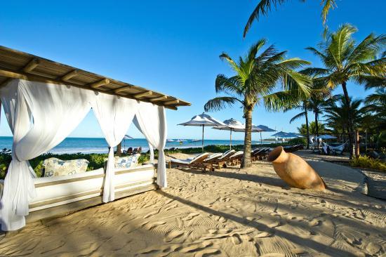Villas de Trancoso Hotel: Villas Beach Bar and Restaurant