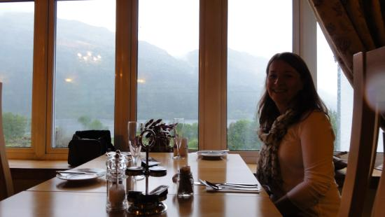 Loch Eck, UK: A stunning view from your breakfast table