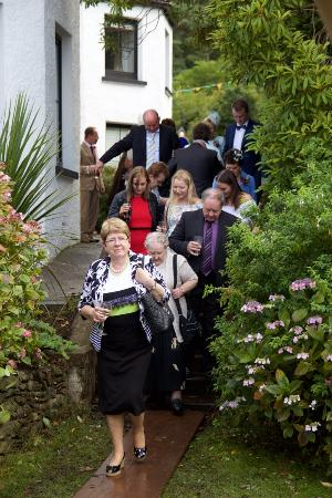 The Glenbeigh Hotel: Heading to the Marquee