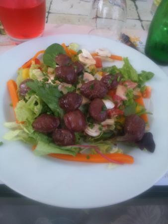 salade  de gesier