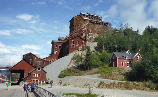 McCarthy, AK: Kennicott concentration mill