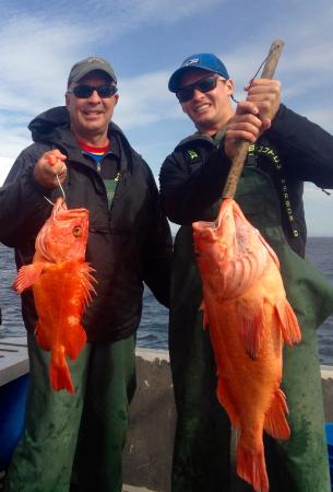 Alaska's Kodiak Island Resort: Yellow-eye rockfish