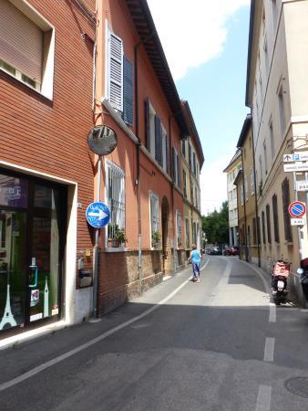The road to Casa Masoli