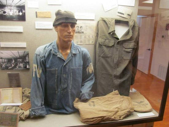 Camp Hearne: Original POW uniforms