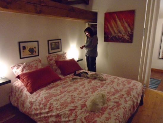 La Thalotiere: chambre