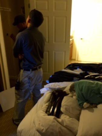 Marriott's Grande Vista: MARRIOTT WORKERS IN ROOM UNAUTHORIZED AND TOUCHING GUESTS BELONGINGS