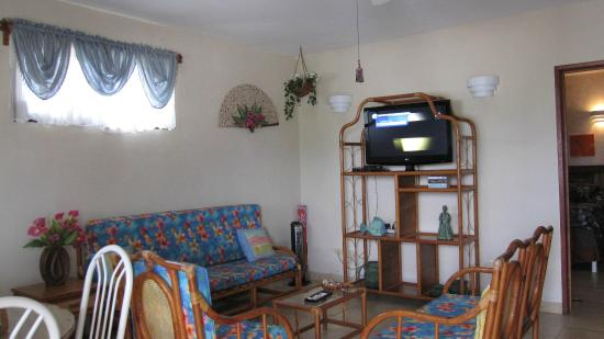 IslaMar Vacation Villas: Living area - AC in bedroom