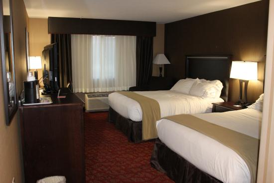 Holiday Inn Express Hotel & Suites Moab: Chambre 2 lits