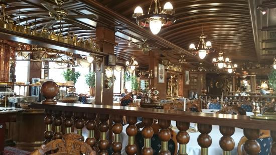 Botel Admiral: restaurant