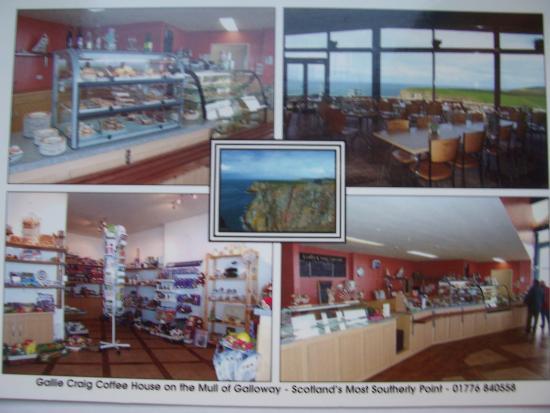 Mull of Galloway, UK: Gallie Craig Coffee House
